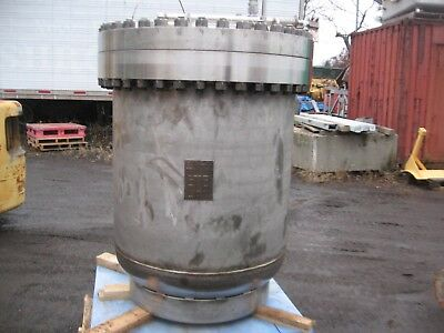 Stainless Steel LN-2 Pressure Vessel 480 PSI