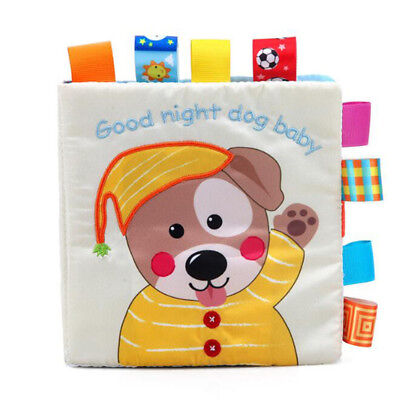 Soft Story Books Baby Toddlers Lovely Learning Brain Development Activity Toy 8C