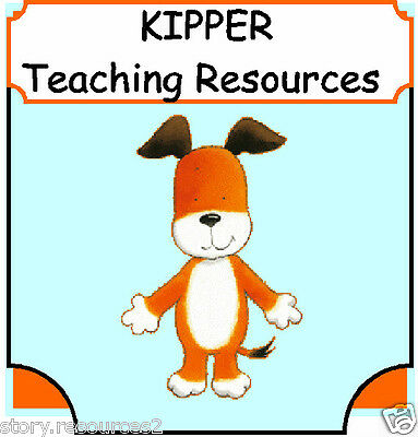 KIPPER Teaching Resources Story for sack Kippers Toy Box Childminder EYFS KS1