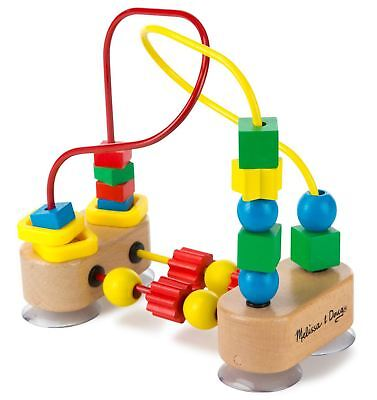 Melissa & Doug MY FIRST BEAD MAZE WOODEN TOY Baby/Toddler/Child Gift/Game BN