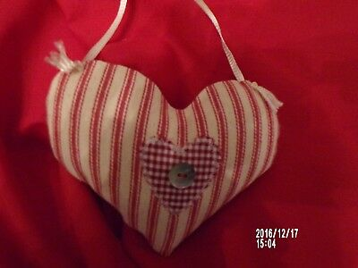 Primitive Valentine Heart door hanger