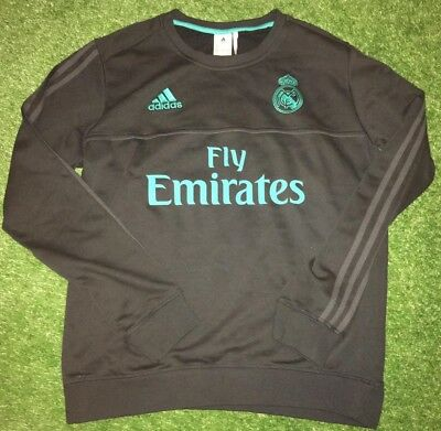 Fußball-Artikel Real Madrid FULL SPONSOR sweater player issue shirt match worn Ronaldo Ramos