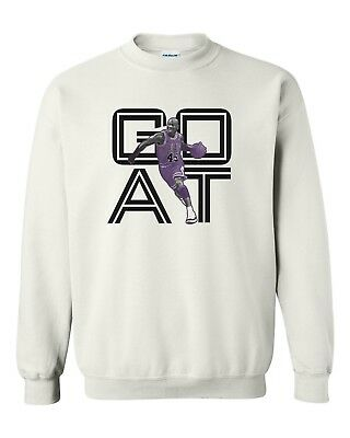 3dec96ac99ad7c Goat 45 Crewneck Sweatshirt To Match Jordan 11 Xi Retro Concords New - White