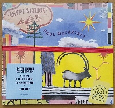 Egypt Station -  Paul McCartney - BRAND NEW CD - Limited Edition Concertina