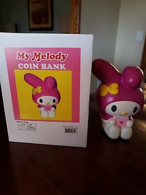 Hello Kitty by Sanrio. MY MELODY Coin Bank