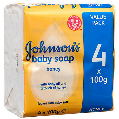 New 379884  Johnsons Baby Soap Honey 100 Gr (36-Pack) Baby Items Cheap Wholesale