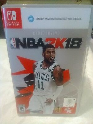 NBA 2K18 Basketball for Nintendo Switch Console Brand New Sealed Ships Fast !!!