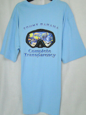 b6f7f910d Tommy Bahama 'TRANSPARENCY' Graphic Tee Shirt in Bowtie Blue MSRP $49.50 ...