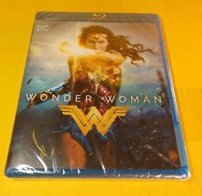 Wonder Woman (Blu-ray Disc) Brand NEW(Sealed)-Free Shipping with Tracking