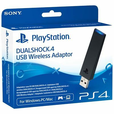 SONY PS4 DUALSHOCK 4 USB Wireless Adapter Bluetooth CUH-ZWA1E PLAYSTATION