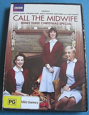 CALL THE MIDWIFE Christmas Special DVD NEW SEALED (Series 3) Region 4 SEE BELOW