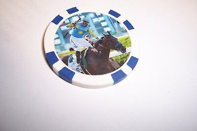 American Pharoah   2015 Triple Crown Winner  Horse Racing Collector Chip