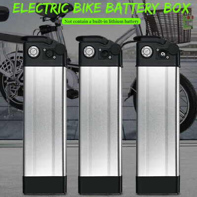 36/48V Li-ion Lithium Battery Box Case For Electric Bicycle E-Bike Charger Kit