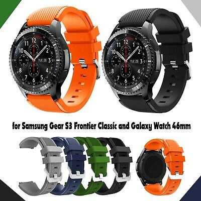 Replacement Silicone Band Strap For Samsung Gear S3 Frontier Watch & S3 Classic