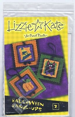 Lizzie Kate for Punch Needle-Halloween Hang Ups 2-New
