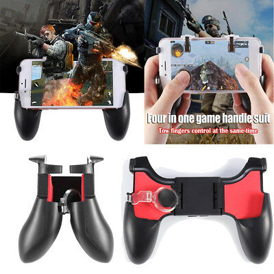 5 in 1 Mobile Phone Gamepad L1 R1 Fire Shooter Buttons Trigger Handle for PUBG