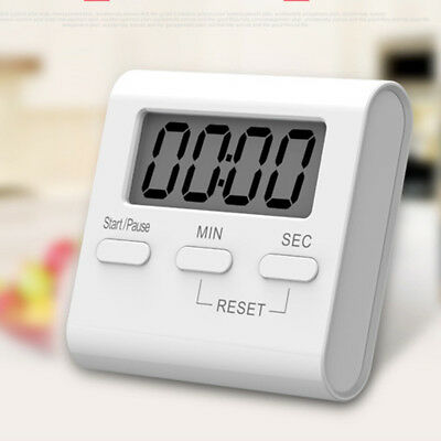 LCD Digital Kitchen Cooking Timer Count-Down Up Clock Loud Home Alarm Magnetic