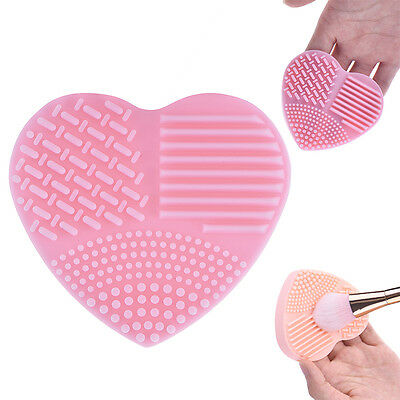 New Silicone Makeup Brush Cleaner Mat Washing Glove Cosmetic Cleaning Scrubber