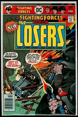 DC Comics OUR FIGHTING FORCES #169 The LOSERS FN/VFN 7.0
