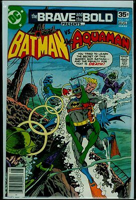 DC Comics The BRAVE And The BOLD #142 BATMAN And AQUAMAN VFN 8.0