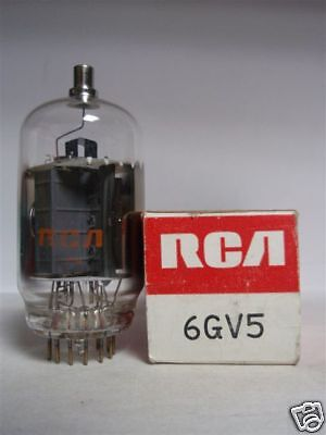 6Gv5 Tube. Mixed Brands. Nos / Nib. Rc109