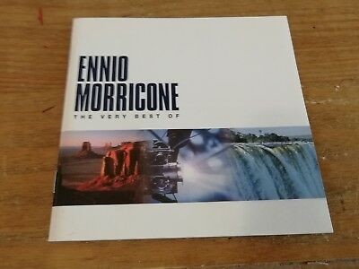 Ennio Morricone - The Very Best Of - CD (2000) Soundtrack compilation