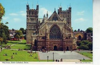 West Front Exeter Cathedral Devon