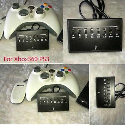 Controller Turbo Adapter Converter Wireless /Wired for Microsoft Xbox 360 to PS3
