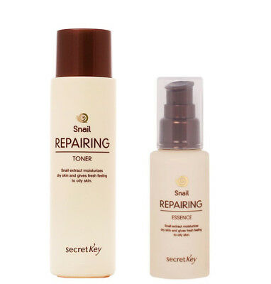 [SECRET KEY] Snail Repairing Toner & Essence - 150ml & 60ml