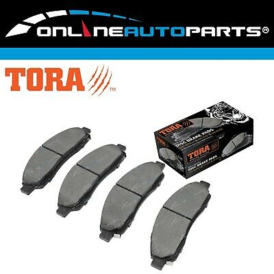 Front Disc Brake Pads Set suits Holden Rodeo RA 2003-2008 4X4 Ute Pickup