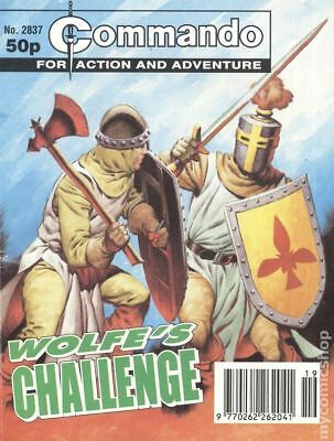 Commando for Action and Adventure (U.K.) #2837 1995 VG Stock Image Low Grade