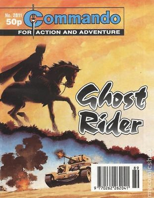 Commando for Action and Adventure (U.K.) #2811 1994 VG/FN 5.0 Stock Image