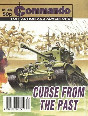 Commando for Action and Adventure (U.K.) #2832 1995 VG+ 4.5 Stock Image