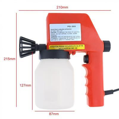 75W Electric Paint Sprayer Gun Spray with 600mL Capacity and Funnel for Home