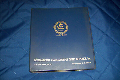 IACP Supervisor Training Manual 1967 at Baltimore City Police Department