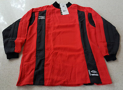ba195114d41 UMBRO GOALKEEPER JERSEY Retro Vintage 1990s ~ Padded ~ Adult XL ...