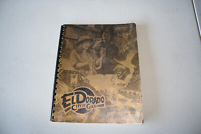 Original Gottlieb ElDorado Pinball Manual with Schematics