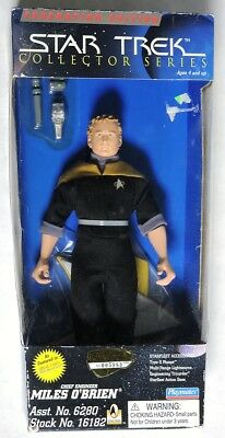 ESZ9406. Star Trek Collector Federation Ed. MILES O'BRIEN L/E Figure (1996)