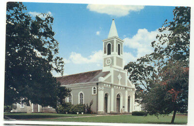 St. Martinville LA St. Martin Of Tours Church Postcard - Louisiana