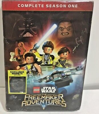 LEGO Star Wars The Freemaker Adventures - Complete Season One DVD 2 Disc set new