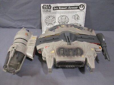 "Star Wars ""DASH RENDAR'S OUTRIDER"" Shadows of the Empire 1996 Kenner"