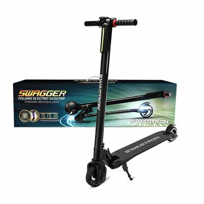 SWAGTRON Swagger High Speed Ultra-Lightweight Electric e-Scooter 23km/hour