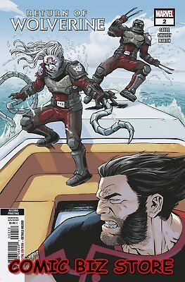 Return Of Wolverine #2 (Of 5) (2019) Shalvey 2Nd Printing Variant Cover Marvel
