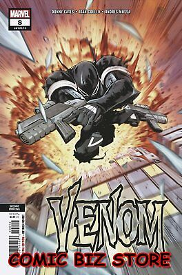 Venom #8 (2019) 2Nd Printing Coello Variant Cover Bagged & Boarded Marvel Comics