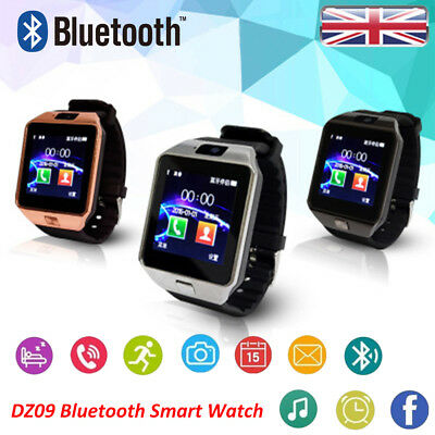 DZ09 Bluetooth Smart Watch Phone + Camera SIM SLOT For Android IOS Phones
