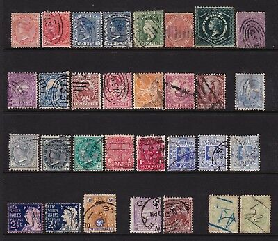 New South Wales pre-decimal State Stamp Collection used