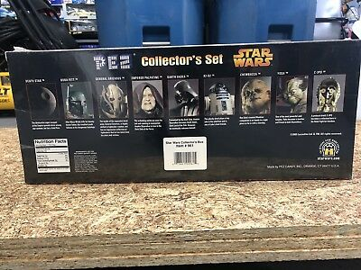 Brand new sealed Star Wars 9 character Pez Collector's Set Limited Edition 2005