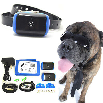 Wireless Dog Fence Containment System Waterproof Electric Transmitter Collar