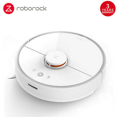 Roborock S50 Roboter Vacuum Cleaner 2nd Smart Sweep Aspiradora EU Version Blanco