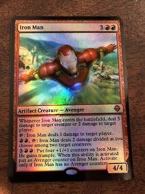 Iron Man Stan Lee Marvel Magic The Gathering MTG card Planeswalker